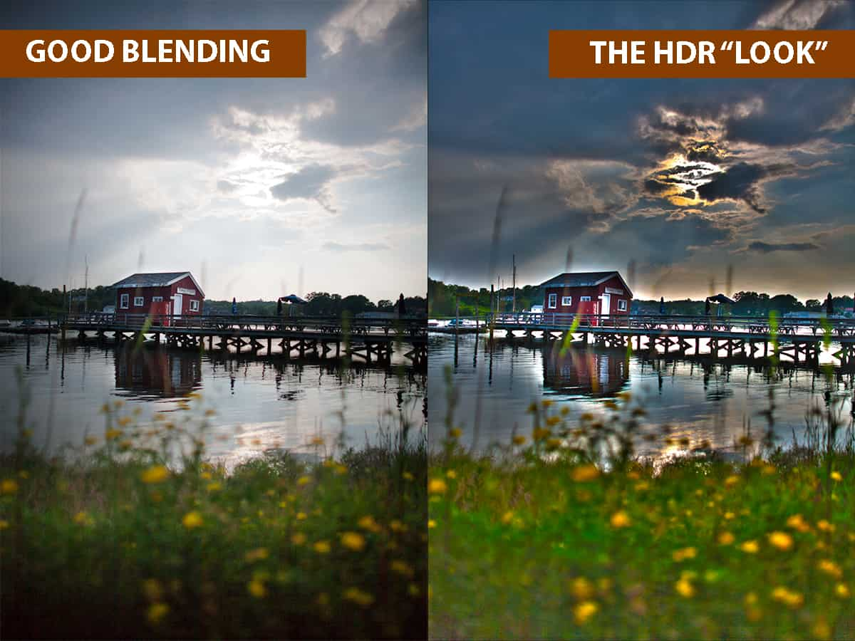"How to Avoid the ""HDR Look"" when Exposure Blending"