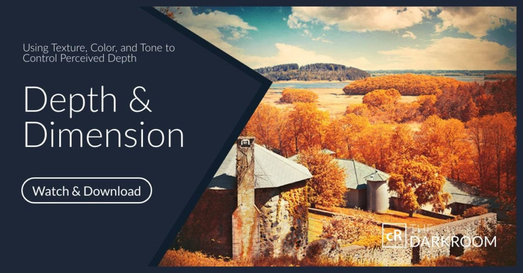 Creating Depth and Dimension in Lightroom and Photoshop
