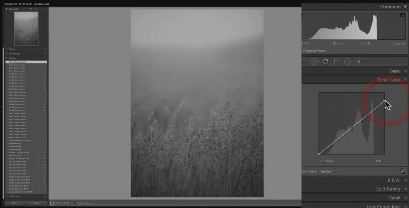 Setting Tonal Limits in Lightroom and Photoshop