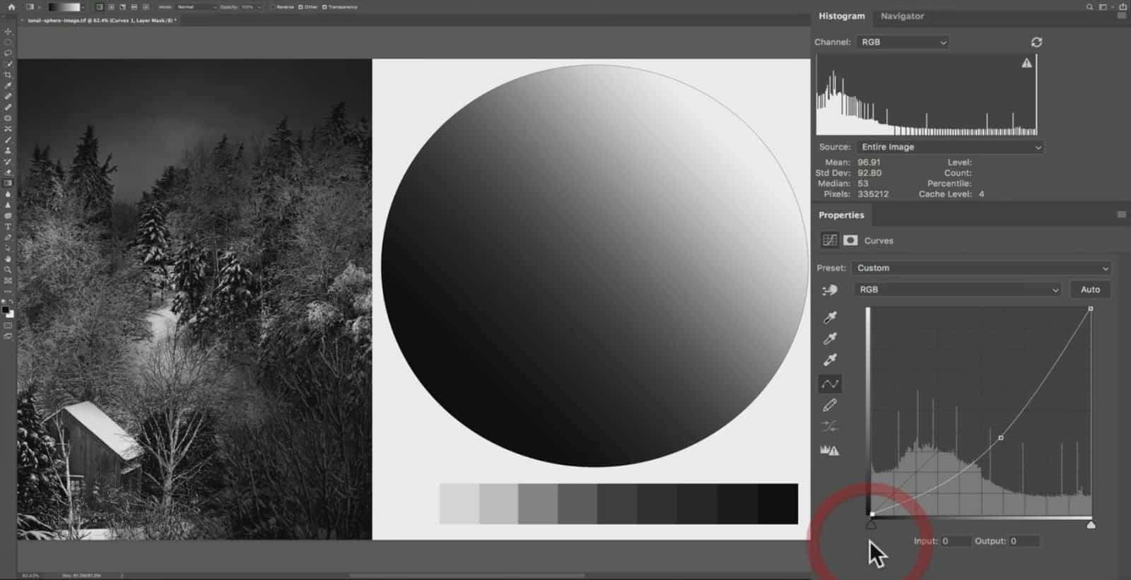 How to Make Pure Black in Curve - CreativeRAW