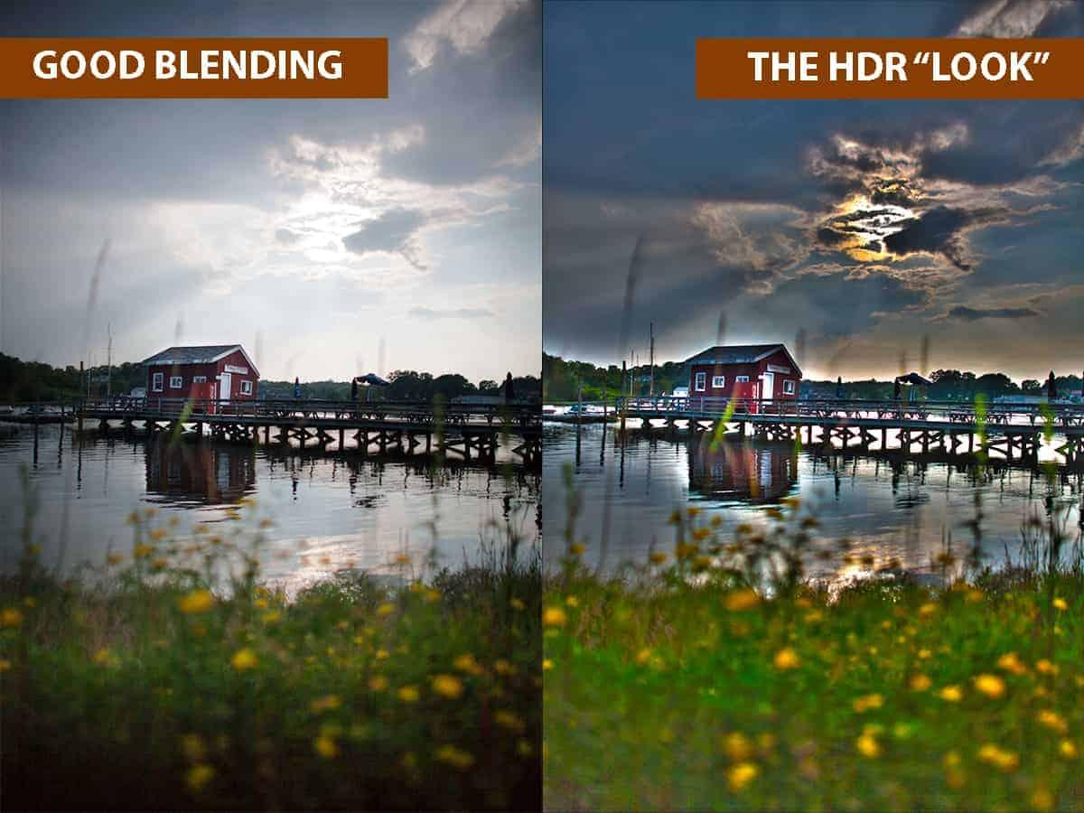 """Good Blending vs The HDR """"Look"""""""