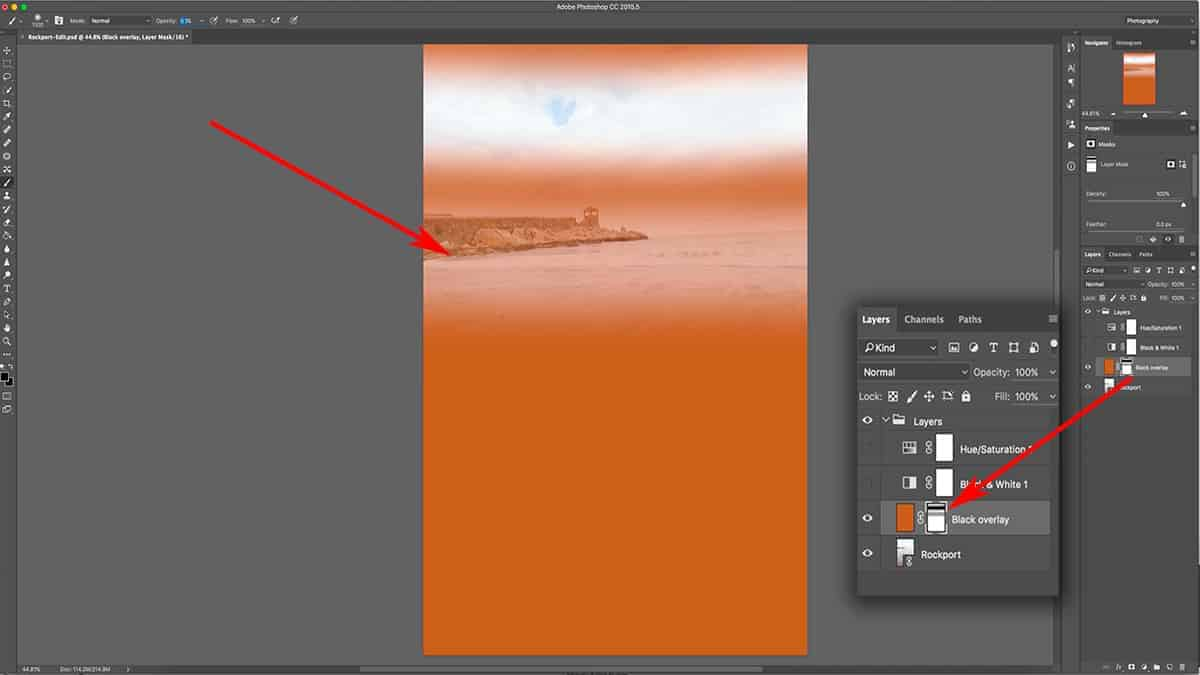 Changing the opacity of the brush tool