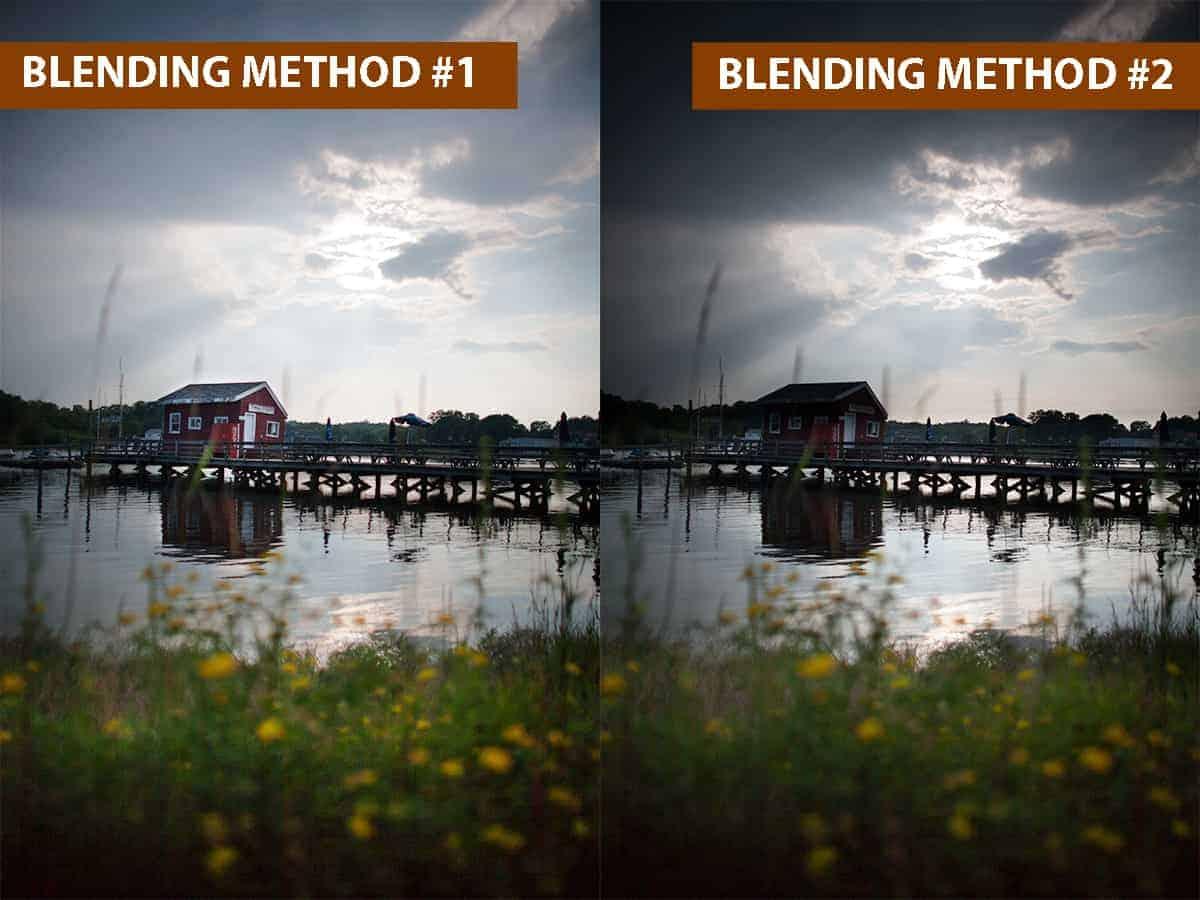 Blending Method #1 vs Blending Method #2
