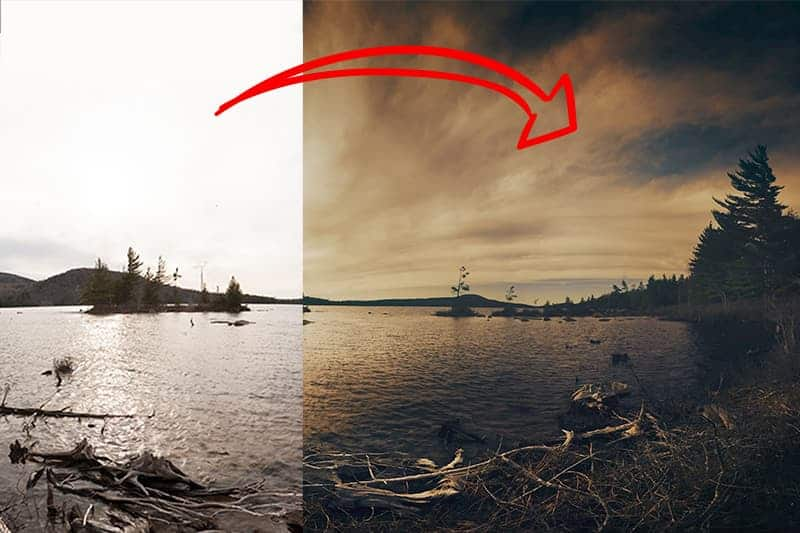 Dark Processing: before and after - CreativeRAW