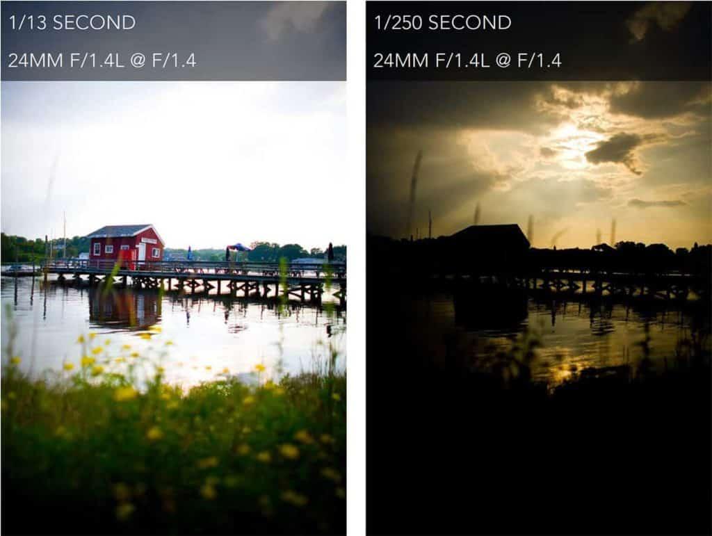 1/13 Second vs 1/250 Second - CreativeRAW