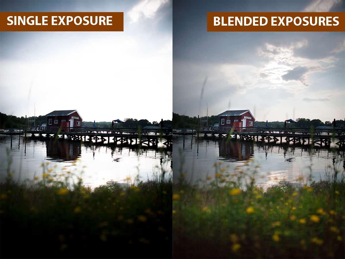 Single Exposure vs Blended Exposures