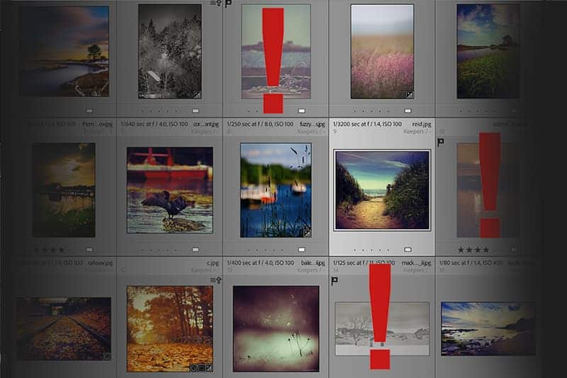 Find and Prevent Missing Images - CreativeRAW