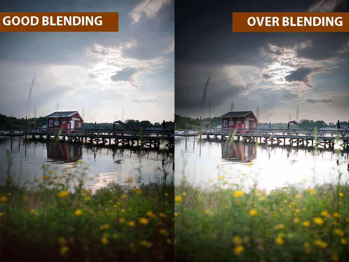 Good Blending vs Over Blending