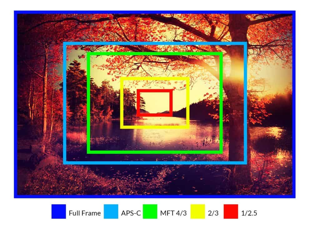 Benefits of large camera sensors - CreativeRAW